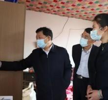莱芜区委书记朱云生到雪野街道走访慰问贫困户