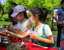 端午假期第一天,济南植物园开启快乐之旅