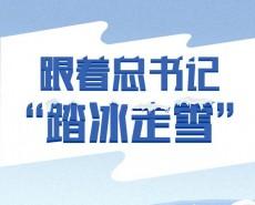 """冰雪之约 中国之邀 跟着总书记""""踏冰走雪"""""""