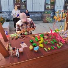 首届中国国际文化和旅游博览会章丘龙山瓷创意园分会场暨章丘籍书画名家邀请展开幕