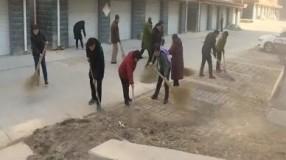 村村户户搞清洁干干净净迎春节 | 济南各区县开展村镇卫生清扫工作