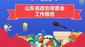一图读懂山东省政协常委会工作报告
