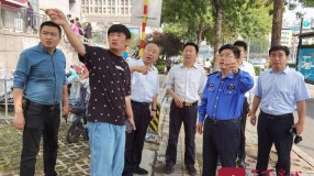 国庆我在岗   济南城管全力维护节日市容环境秩序