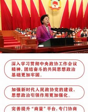 打造为民政协、务实政协、开放政协 一图读懂丨济南市政协常委会工作报告