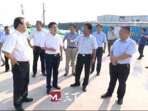 济南广播电视台党委班子率全媒体报道组到槐荫区学习调研采风