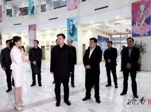中宣部政策法规研究室巡视员、副主任王雷鸣一行来济南广播电视台调研