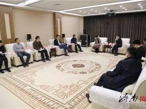 黑龙江省委宣传部专题调研济南广电媒体融合建设情况