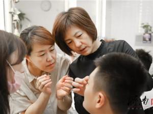 央视著名化妆师邵京京助力济南广电主持人形象提升