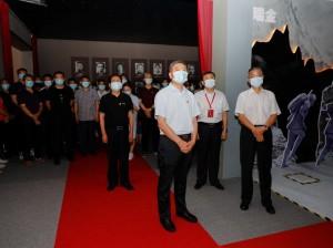 济南广电参观济南市庆祝中国共产党成立100周年主题展