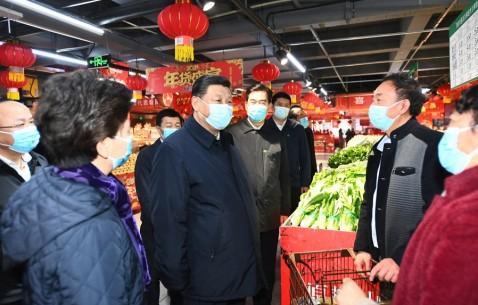 【网络中国节·春节】春节前总书记进超市传递民生关切