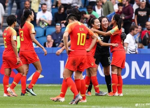 世界杯:中国女足0-0西班牙小组第3晋级16强