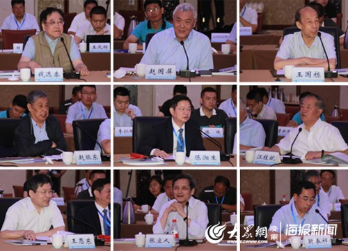 济南南翼科技创新与产业发展院士专家座谈会在莱芜区召开