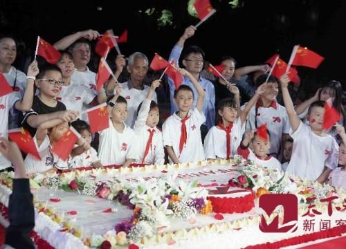 央視 :濟南燈光秀慶生,我與祖國共成長