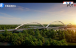 """齐鲁黄河大桥420米主拱拱肋合龙创下""""世界之最"""""""